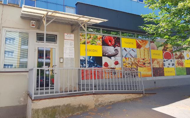 Vchod z ulice Bubeníčkova